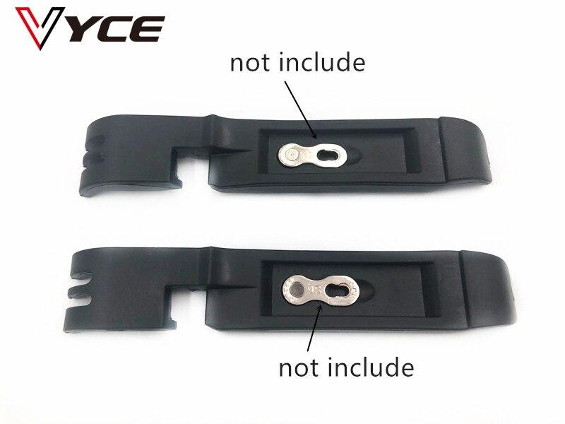 2 pièces astucieux manquant levier vélo chaîne boucle magique pneu roue réparation rapide outil de retrait vélo outil multifonction