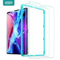 ESR 2PCS Tempered Glass for iPad Pro 11 12.9 2020 2018 Screen Protector for iPad Pro 2021 11 12.9 Clear Glass for iPad Air 4