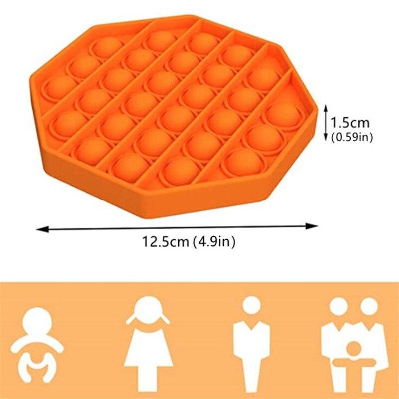 Simple Dimple Popit Fidget Toys Push Bubble Fidget Sensory Toy Autism Special Needs Stress Reliever Antistress Toys enlarge