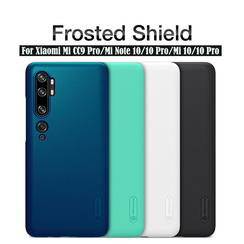 Para Xiaomi mi CC9 Pro mi Note 10 Pro estuche protector Super esmerilado Nillkin de cubierta trasera de PC duro caso protector para Xiaomi mi Note10
