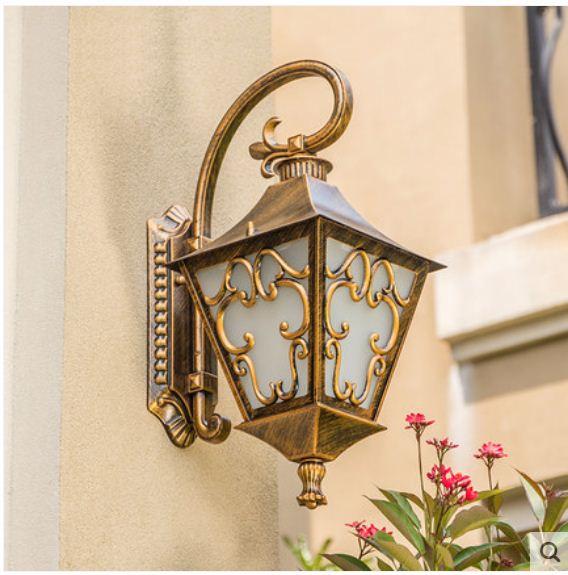 American country outdoor wall lamp door front garden lamp outdoor villa garden balcony exterior wall waterproof wall lamp enlarge