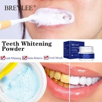 breylee teeth whitening natural pearl essencetoothpaste powder oral hygiene for remove plaque stains bleaching dental tools 30g