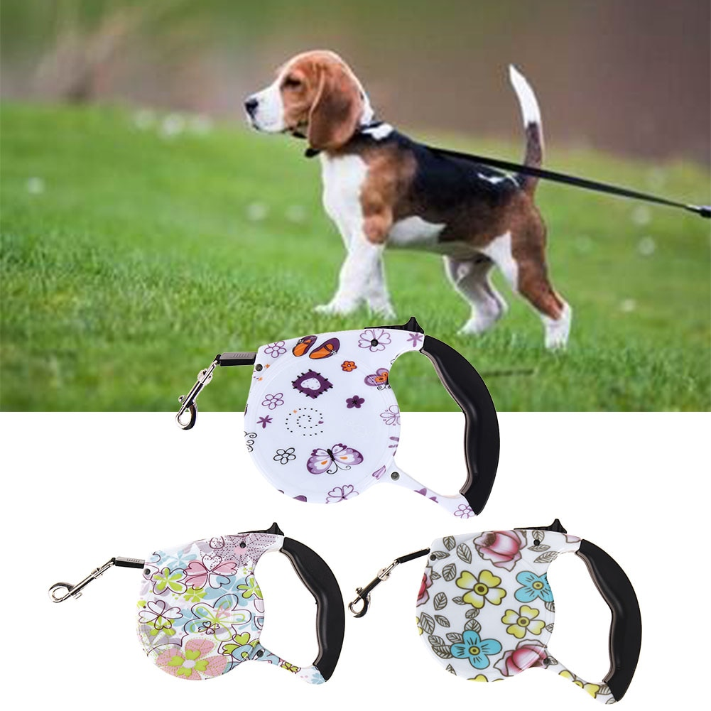 5M Retractable Dog Leash Automatic Leash for Dogs Products Pet Traction Rope Chain Harness Puppy Walking Leads Dog Collar