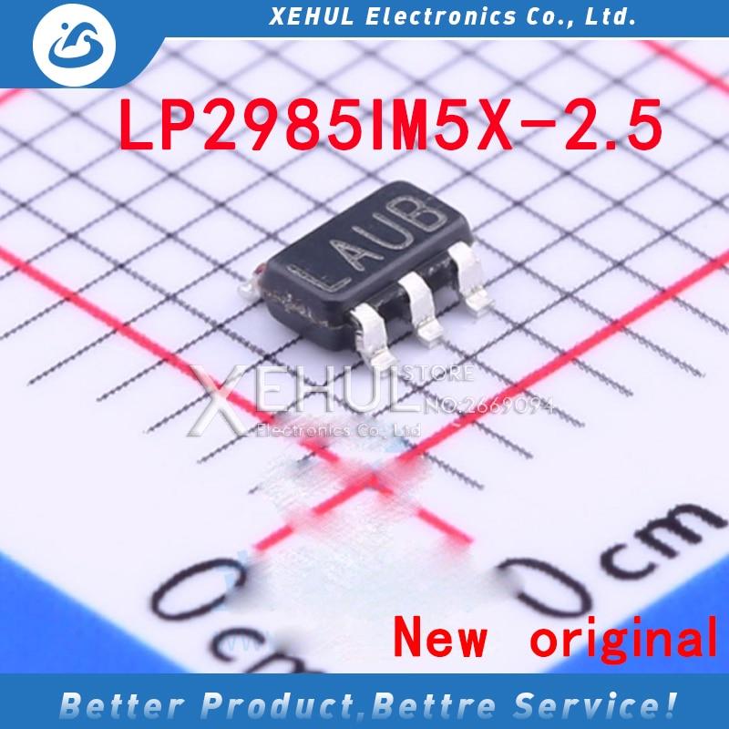 20PCS /50PCS /100PCS LP2985IM5X-2.5  LP2985IM5-2.5 LP2985IM5X-2.5/NOPB  LAUB SOT23-5 SMD 150MA 2.5V LDO Regulator New Original