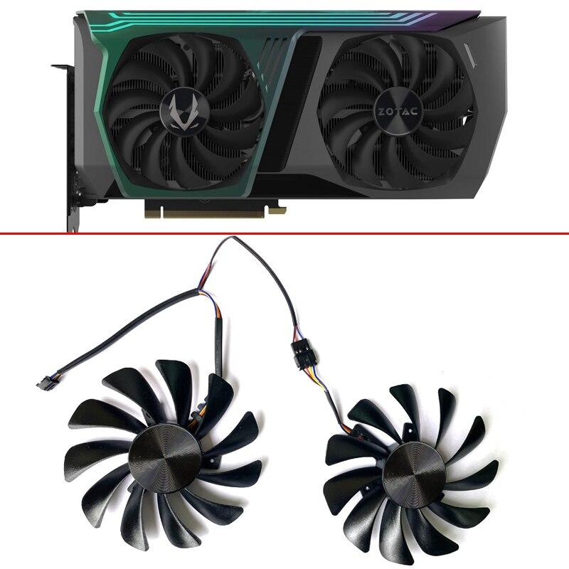 Новый 95 мм CF1010U12S для ZOTAC GAMING GeForce RTX 3070 AMP HOLO Dual видеокарты вентиляторы GA92S2U 4PIN GPU RTX3070 охлаждение