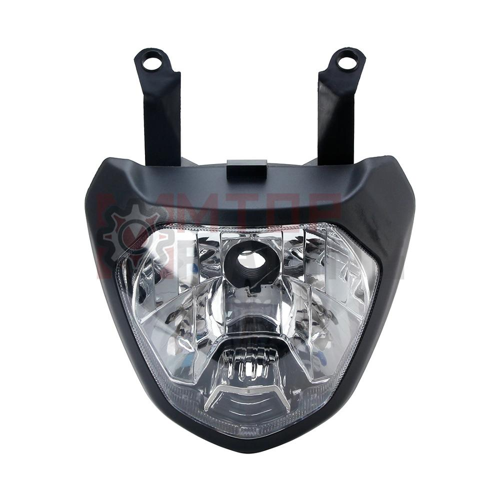 Conjunto de farol de motocicleta para yamaha mt07 MT-07 2014 2015 2016 2017 lâmpada