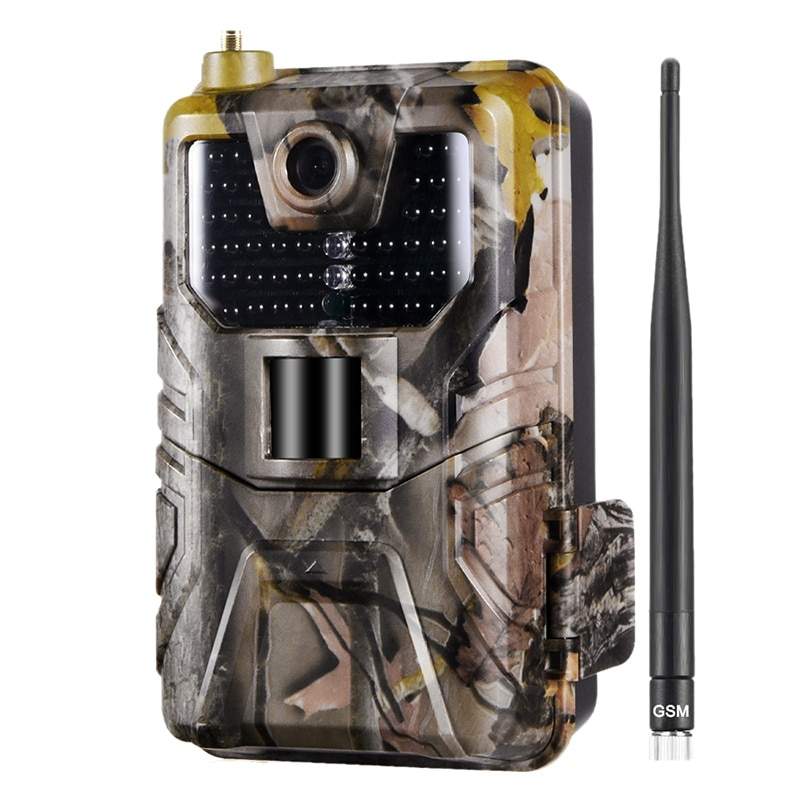 كاميرا صيد HC900M بدقة 20 ميجابكسل 1080P مصيدة صور للحياة البرية مصيدة للرؤية الليلية 2021 VGA أفي فيديوميموري بطاقة SD إلى 32 جيجابايت