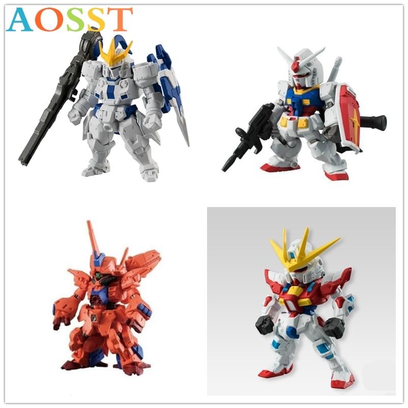 Kodak genuino asamblea modelo Q BB Guerrero Hg Kit de modelismo figuras de acción traje móvil ardiente Angel Gundam modelo juguetes para