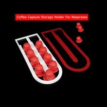 Support de dosettes de café Nespresso   Nouveau 2020, support de rangement de capsules de café, 10 tasses, Capsulas Shelve, support dorganisation pour Nespresso