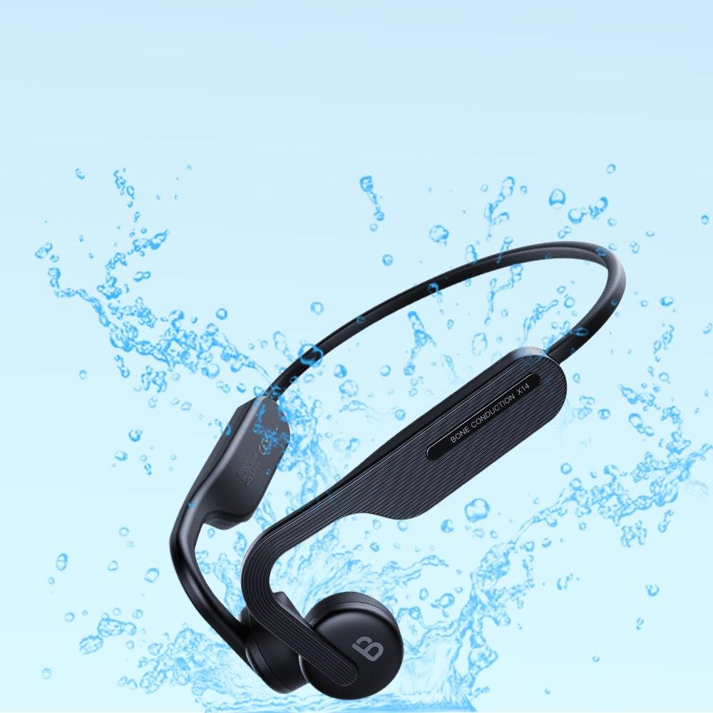 TWS العظام التوصيل سماعة بلوتوث اللاسلكية IPX6 الرياضة مقاوم للماء الأذن هوك نوع c سماعات لهواوي آيفون شاومي سامسونج