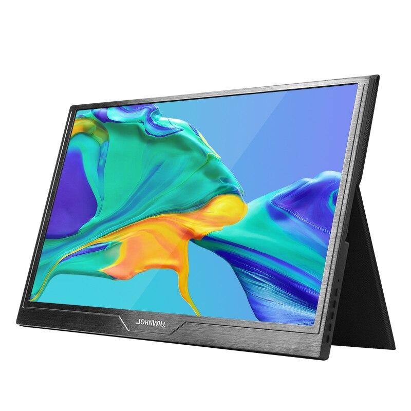 شاشة 15.6 بوصة 60/144 هرتز محمولة USB C HDMI ، 99% هاتف ذكي متصل مباشرة ، ل شاومي ، PS4 ، الكمبيوتر ، التوت بي ، التبديل