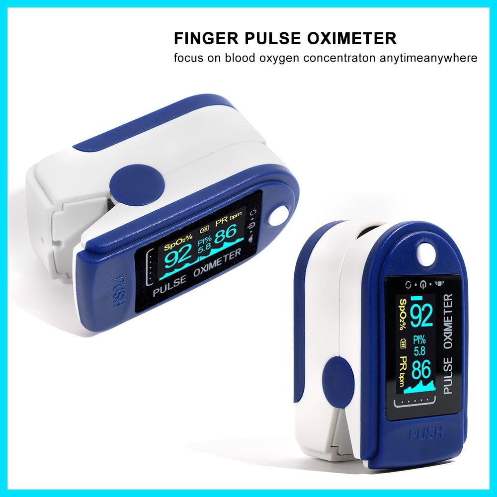 RZ Finger Oximeter Pulse Oximeter Saturometro Household Health Monitors Fingertip Pulsioximetro