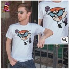 Dexter T shirt Laboratory Nerd alert cool funny oldschool toys animo  S M L XL