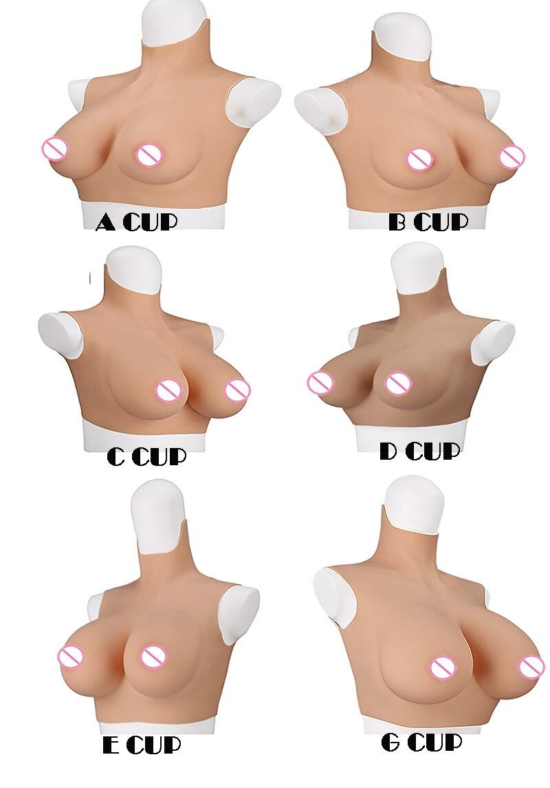 6G بلا أكمام عبر خلع الملابس واقعية لينة سيليكون A-G كأس الثدي شكل دعوى وهمية الثدي دعوى لمتحولين جنسيا خنثى سحب الملكة