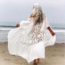 2020 femmes rose maillot de bain couvrir à manches longues plage tunique caftan Robe de plage solide wrap paréo vêtements de plage couverture Ups maillot de bain