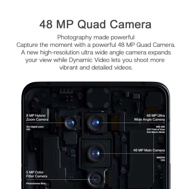 Фото3 - Глобальная версия Oneplus 8 Pro 5G Смартфон Snapdragon 865 8 ГБ 128 6,78 120 Гц жидкости Дисплей 48MP Quad OnePlus официального магазина Carter's