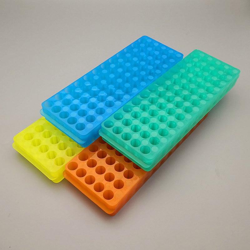 2 шт./5 шт./10 шт. лабораторные 60 отверстий пластиковые 0,5 мл/1,5 мл/2 мл двухсторонние Реверсивные Разные трубы с дырочками держатели центрифуги