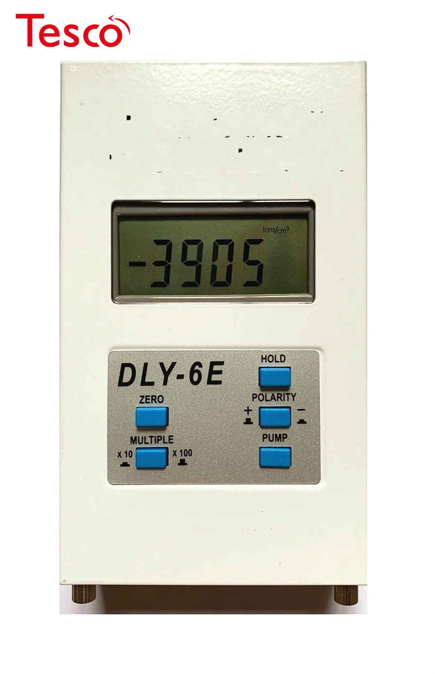 DLY-6E الهواء أيون مكافحة قياس المدى 10 إلى 399990 أيونات/cm3