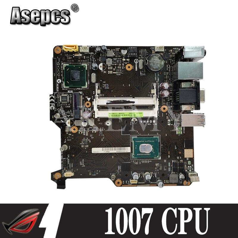 VM40B اللوحة الأم ل For Asus VivoPC VM40B اللوحة المحمول VM40B USB3/SATA3 17*17 ITX اللوحة W/1007U-CPU
