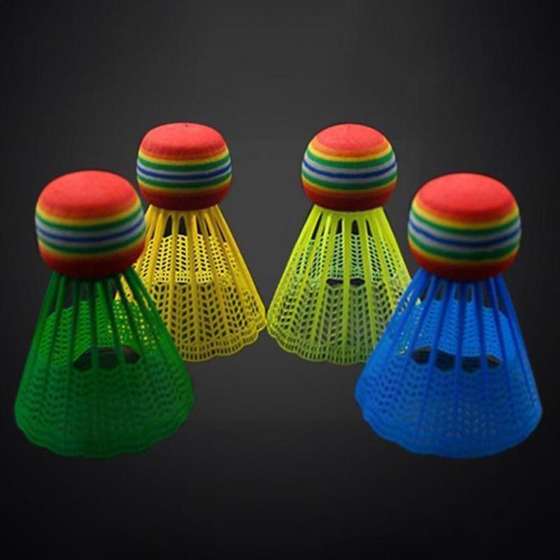 10 шт./упаковка, пластиковые Бадминтонные Мячи