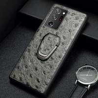langsidi leather magnetic case for samsung galaxy note 20 ultra note 10 s20 plus a51 a71 5g s9 s10 phone case with grip holder