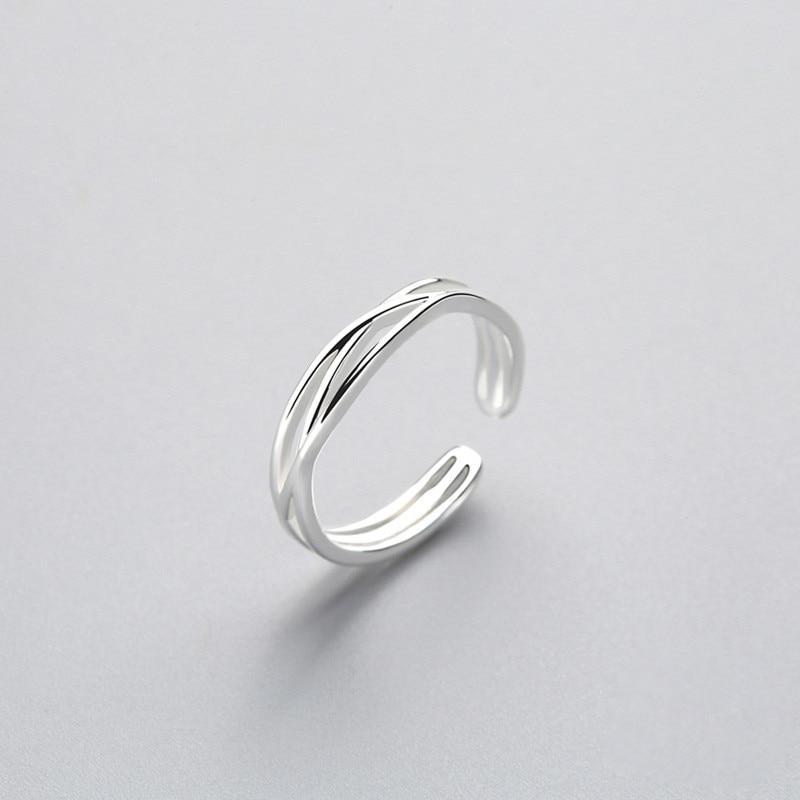 Женское-регулируемое-кольцо-из-серебра-925-пробы-с-геометрическим-узором