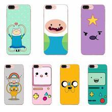 Funda de teléfono para Xiaomi de diseño Redmi 3 3S 4 4A 4X 5 6 6A 7 K20 Note 2 3 4 5 5A 6 7 Plus Pro Adventure Time con Jake y Finn Bmo