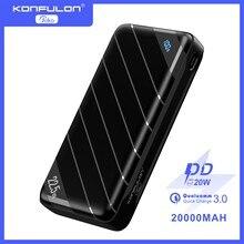 Power Bank 20000mAh QC PD 3.0 Fast Charging Powerbank 20000 mAh Portable External Battery Charger Fo