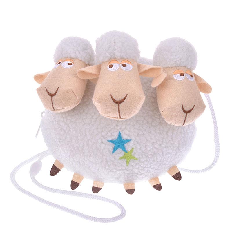 Новая мода История игрушек Billy Goat and Gruff Девочки Мальчики маленькие плюшевые сумки-мессенджеры Дети чучела монета кошелек для детей