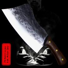 DEHONG Hand forged 7.5-inch Japanese thickening multi-purpose slicer bone cutter sharp household kitchen slicer bone cutter