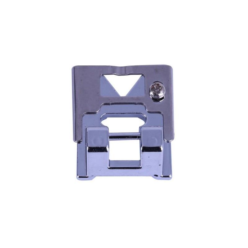 1 peça franja/looping máquina de costura de pé presser pé máquina de costura de miçangas/banda/elástico presser pé