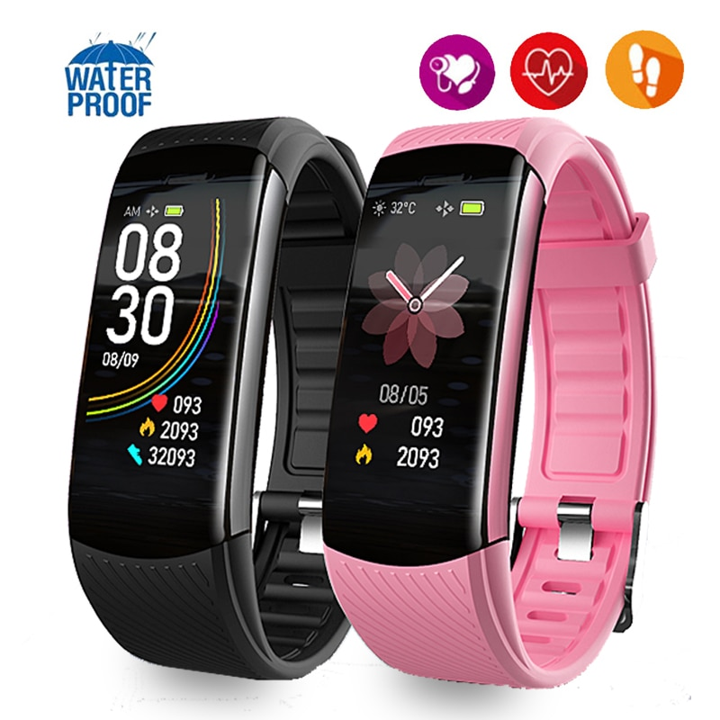2020 Smart Band Women Men Sleep Tracker Heart Rate BP Watch Weather Display Pedometer Call ID Vibrating Clock Sport Bracelets