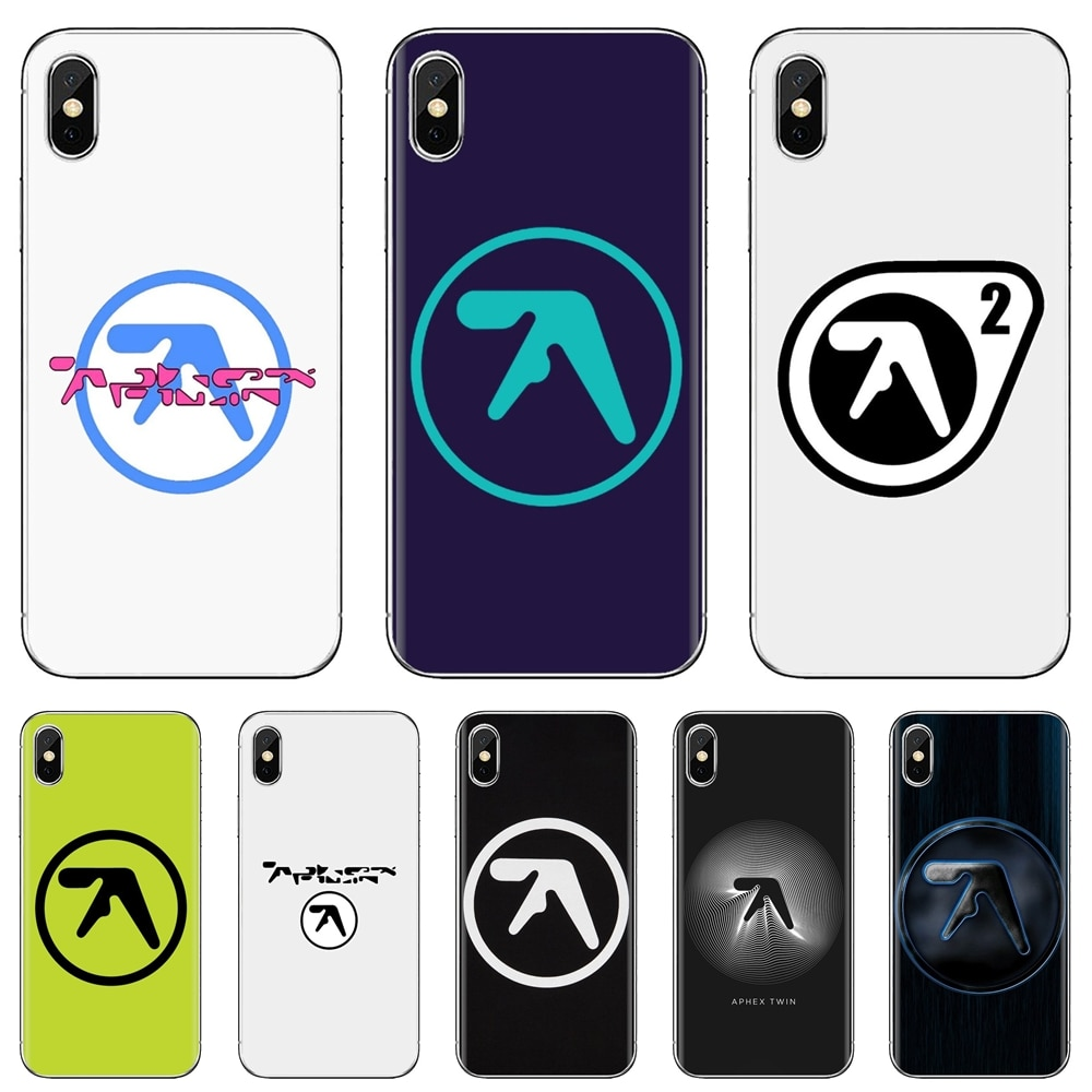 Silicone Phone Cover Aphex Twin Symbol Logo For Huawei P8 P9 P10 P20 P30 P Smart 2019 Honor Mate 9 1