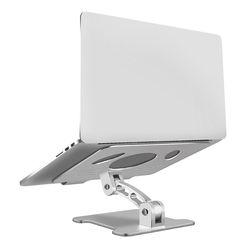Laptop Stand Aluminum Alloy Foldable Portable Computer Stand Ergonomic Laptops Holder Compatible with MacBook Air Samsung  iPad enlarge