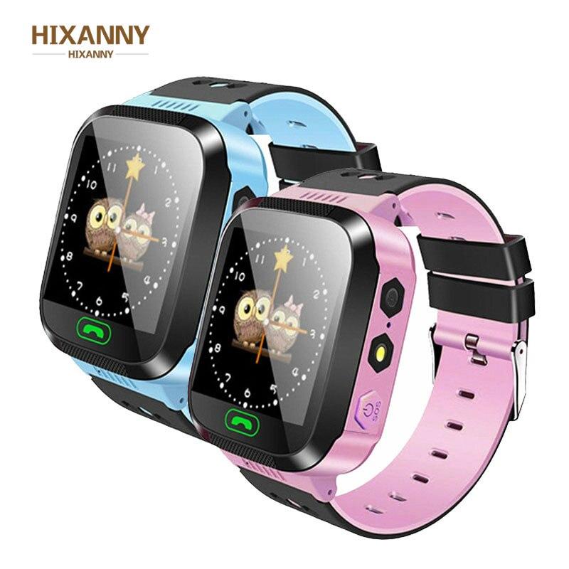 Q02 niños reloj de la Cámara de pantalla táctil llamada SOS LBS de localización de Niños de bebé pulseras de reloj