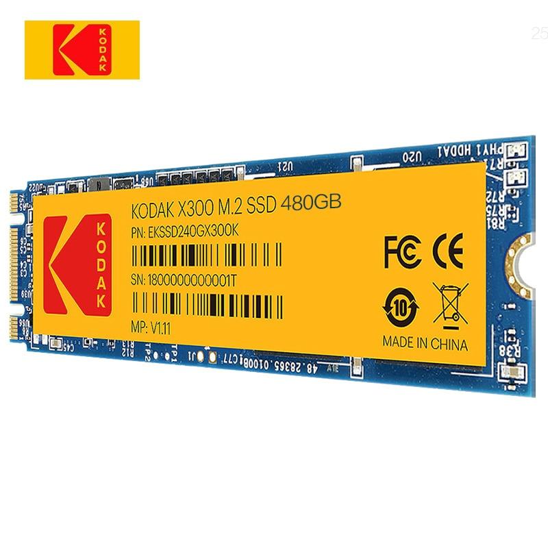 Kodak SSD Hard drive disk  X300 M.2 240GB 480GB 960GB solid state drive disk for laptop desktop  dell hp laptop computer ssd m2