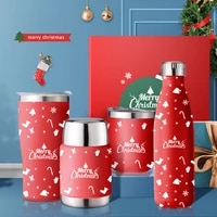 christmas gift travel coffee mug water cup stainless steel tumbler cups vacuum flask thermos bottle thermal cup garrafa termica