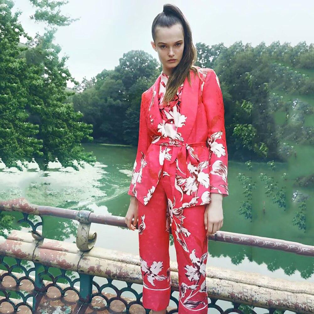 Unizera 2021 new fashion holiday style celebrity temperament women's wear with belt, suit coat + sui