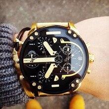 Men's Fashion Luxury Watch Stainless Steel Sport Analog Quartz Mens Wristwatches  Luxury Wrist Watch