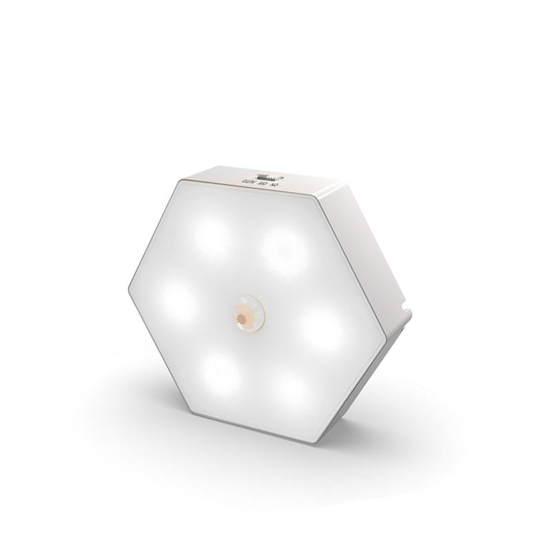 AliExpress - LED Night Light Motion Sensor USB Recharge Bedside Lamp For Bedroom Hallway Pathway Toilet Night Lighting Dropshipping