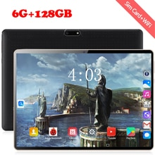 2020 New 10 inch 4G Tablet PC Android 8.0 Octa Core 6GB RAM 128GB ROM 1280*800 IPS WiFi Bluetooth 4G