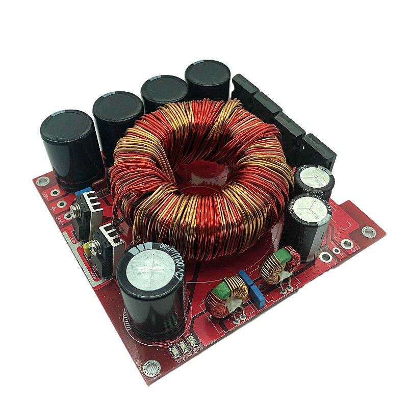 500 w carro amplificador de áudio estéreo placa de impulso de potência única conversão de entrada 12 v duplo + -45 v saída