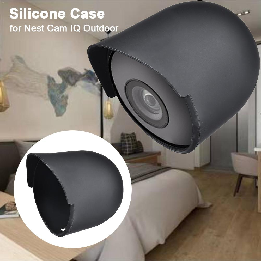 Funda protectora de silicona resistente al clima para cámara de seguridad al aire libre Nest Cam