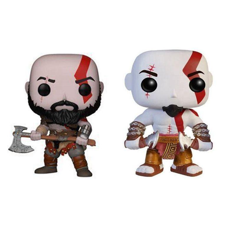 Dios de la guerra el sirviente de Ares Kratos figura de acción muñeca niños regalo de Navidad juguete sin caja 269 #
