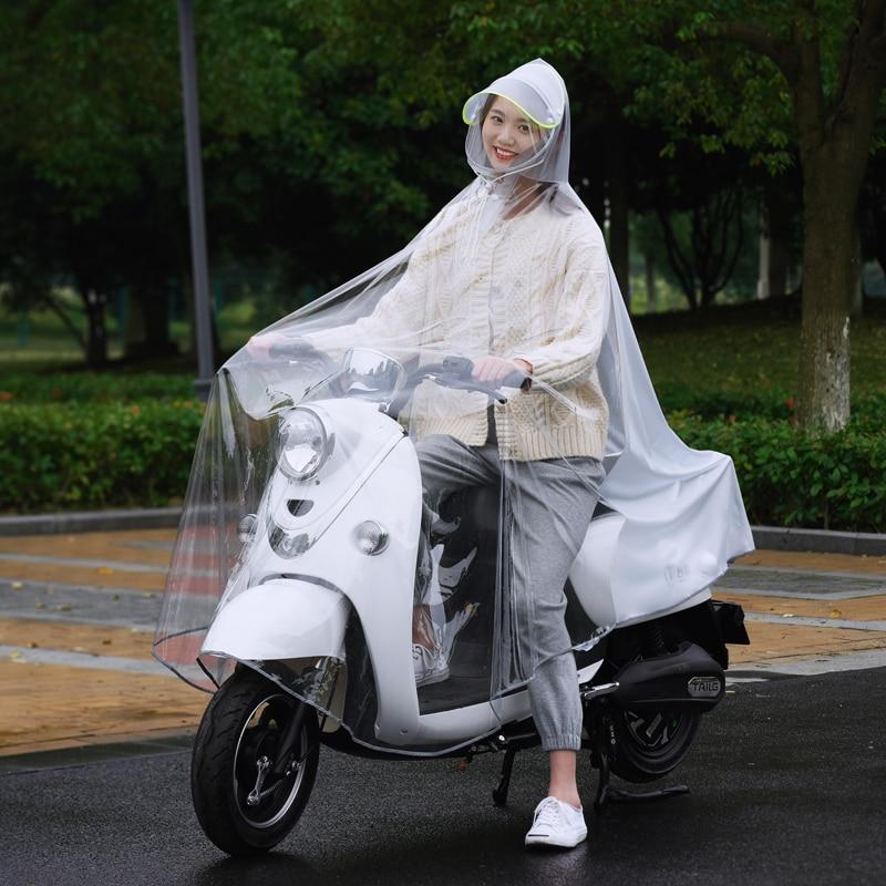 Fashion Poncho Raincoat Women Jacket Motorcycle Transparent Waterproof Raincoat Men Outdoor Chubasquero Moto Home Garden BL50YY