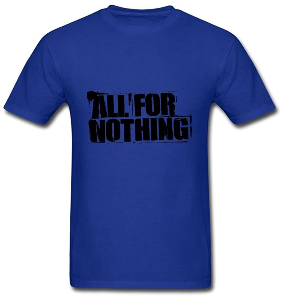 Camiseta de Arte All For Nothing para hombre, camisetas transpirables amarillas, camiseta...