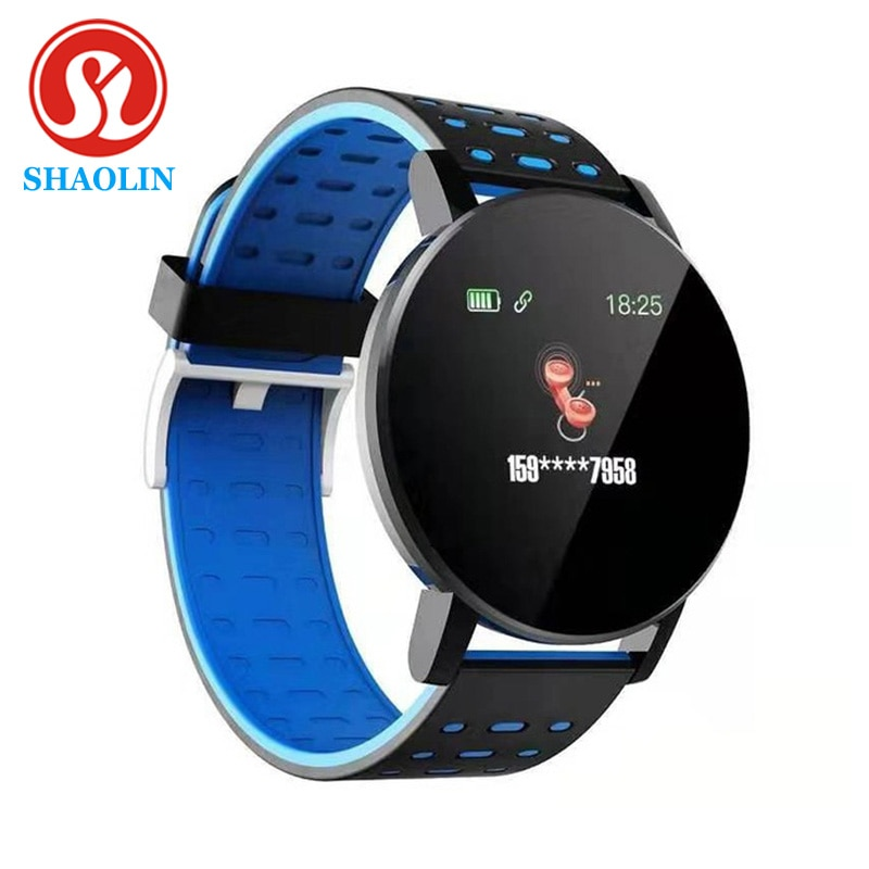 SHAOLIN Smart Bracelet Heart Rate Smart Watch Man Wristband Sports Watches Band Smartwatch Android W