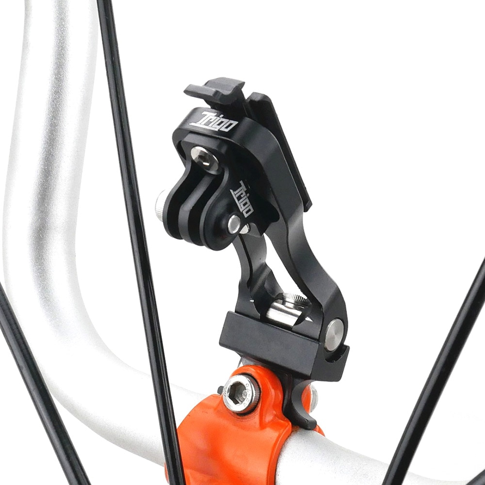 حامل مصباح أمامي لكاميرا الهاتف المحمول تريجو للدراجات النارية برومبتون بيكيس 3 ستين دراجة Garmin Wahoo ملحقات الدراجة الهوائية