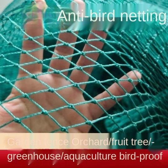 The net of nylon wire in the shed and the bird net for chicken breeding trellis netting bird net  fruit tree net  chicken coop