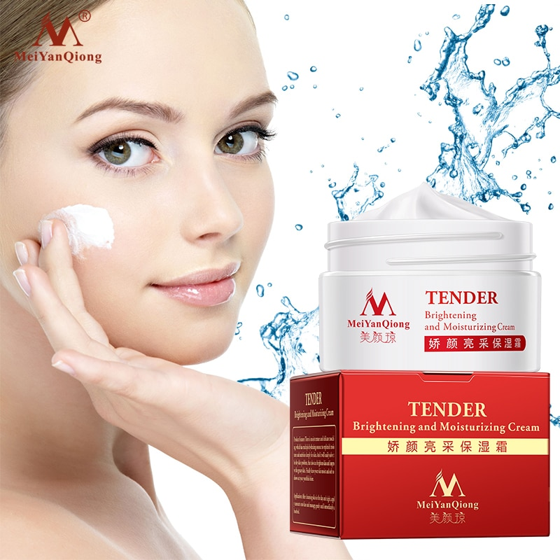 MeiYanQiong Moisturizing Cream Shrink Pores Skin Care Face Lift Essence Tender Anti-Aging Whitening Wrinkle Removal Face Care недорого
